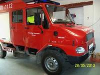 Tragkraftspritzenfahrzeug mit Wasser TSF/W